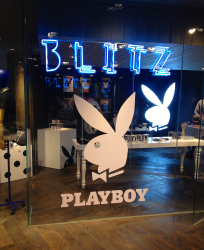 lane crawford blitz playboy 60th anniversary hong kong