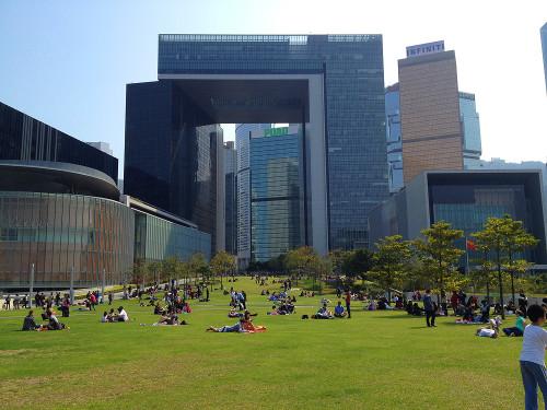 tamar site hong kong government building hk grass field
