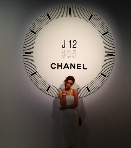 chanel j 12 watch janice man hong kong model