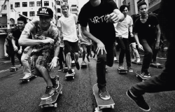 go skateboarding day hong kong hk 2014
