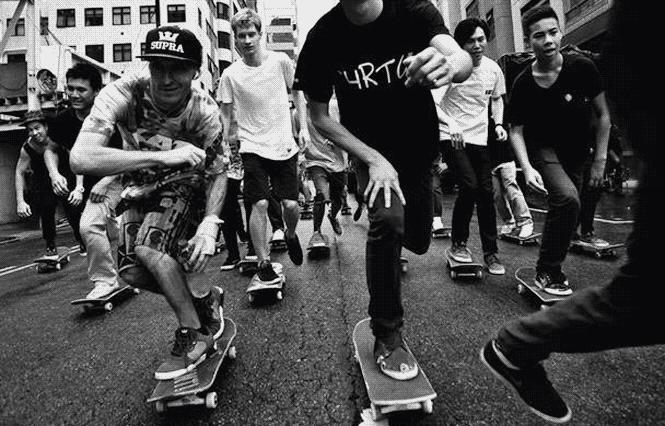 go skateboarding day hong kong hk 2014