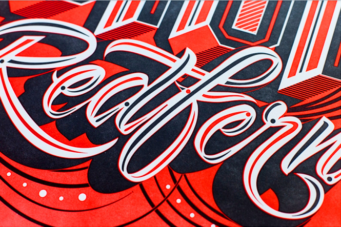 gemma obrien font art typography above second hk