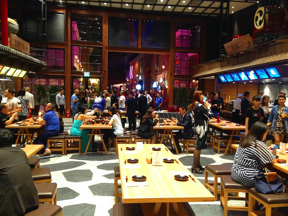 soho macau food court restaurant city of dreams