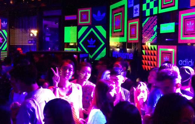 adidas selfie party hong kong hk dragon-i