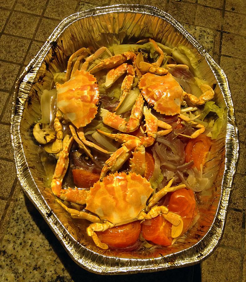 bbq crabs hong kong style hk food