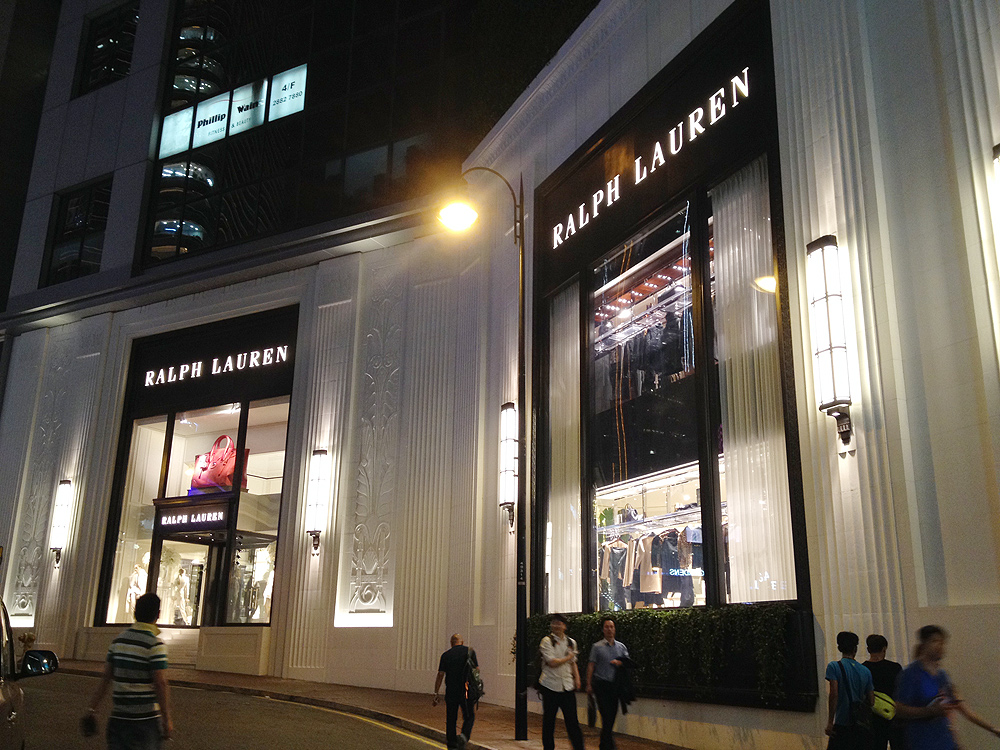 ralph lauren flagship store hong kong hk address