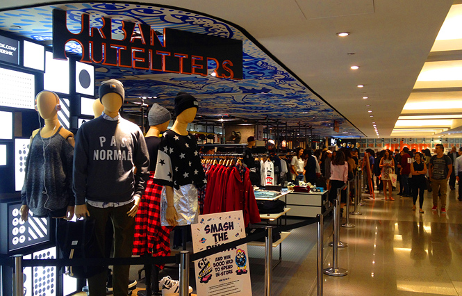 Urban Outfitters arrives in H.K.