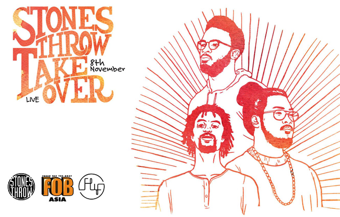 Stones Throw Take Over – Saturday!