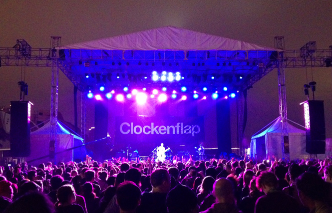 Miss Clockenflap 2014? I don't think so!