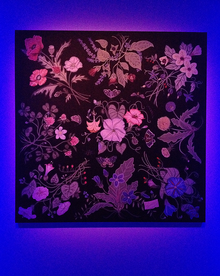 gucci kris knight flora pattern floral collaboration project muse launch