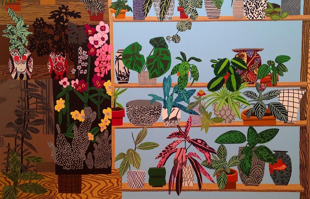 jonas wood shio kusaka pottery dinosaur vase blackwelder gagosian