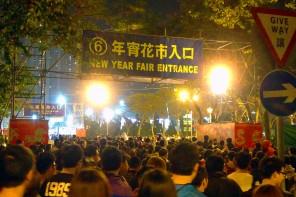 chinese new year fair hong kong flower market hk
