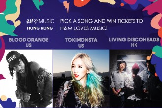 HM loves music hong kong hk blood orange tokimonsta living discoheads hidden agenda