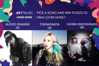 HM loves music hong kong hk blood orange tokimonsta living discoheads hidden agenda