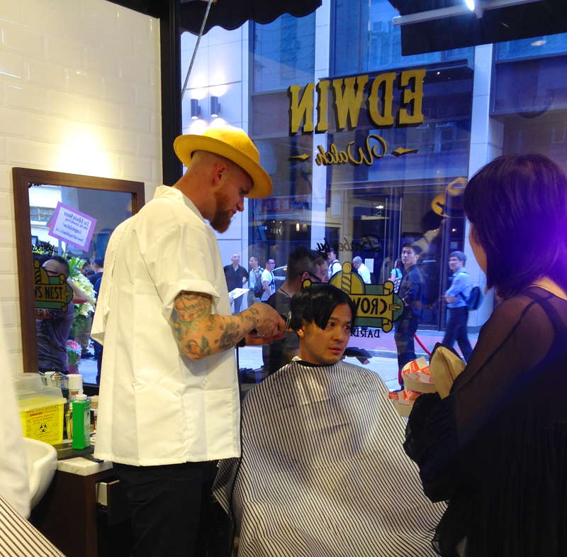 Edwin Watch X Crows Nest Barber Shop  Hong Kong Hustle-5786