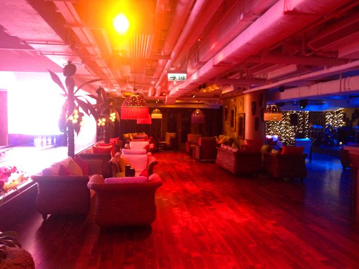 bowling alley tiki bar hk disco