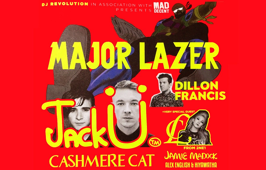 mad decent hong kong hk diplo major lazer cl jack U