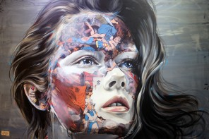sandra chevrier art painting comic book hk