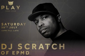 Interview w DJ Scratch of EPMD performing at PLAY – Saturday!