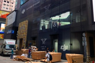 DJI Hong Kong flagship store landing in Causeway Bay!