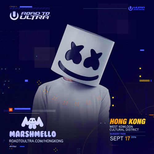 marshmello dj edm hong kong hk ultra music festival
