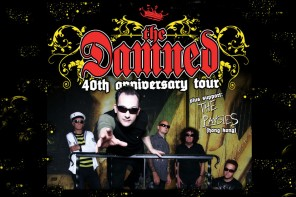 Punk Pioneers The Damned in HK!