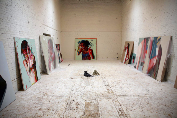 14th factory art la los angeles exhibit simon birch